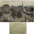cpa 92 Boulogne Billancourt place Nationale c1920 Hauts de Seine