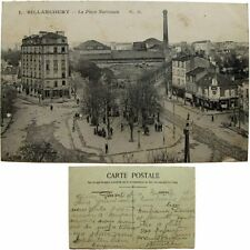 cpa 92 Boulogne Billancourt place Nationale c1920 Hauts de Seine