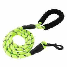 Multi-Color 5FT Strong Dog Leash Climbing Rope Reflective Thread Night Safe Fast