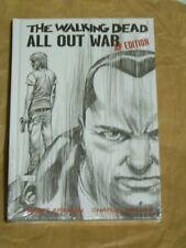 The Walking Dead: All Out War Artist Proof HC - Factory Sealed - Kirkman/Adlard