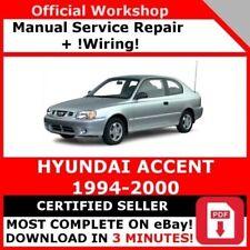 hyundai h1 1997 2007 service repair manual