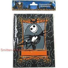 NIGHTMARE BEFORE CHRISTMAS New Jack Skellington JOURNAL with Stickers GREAT GIFT