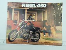 buy rebel motorcycle repair manuals literature ebay rh ebay co uk 1986 Honda Rebel 450 MPG 1986 Honda Rebel 450 MPG