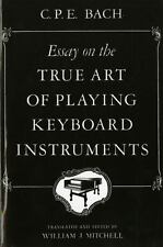 Essay on the True Art of Playing Keyboard Instruments-ExLibrary