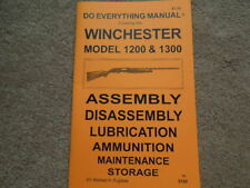 shotgun gun manuals for sale ebay rh ebay com winchester model 12 12 gauge owner's manual winchester model 12 12 gauge owner's manual