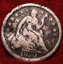1850  Philadelphia Mint Silver Seated Half Dime
