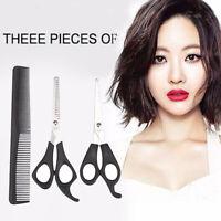 2x Premium Haarschere, 5,5'' Haushalt Friseurschere Effilierschere