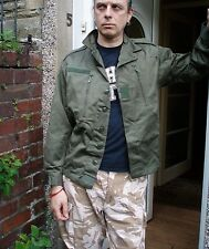 """170/104 C F2 French ARMY Combat Bomber Jacket NEW Vintage look OG Military 41"""""""