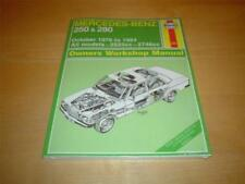 Mercedes-Benz Manuals/Handbooks Car Owner & Operator Manuals