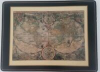 Pimpernel Placemats Cork Backed England Antique World Maps 4 Designs Small Flaws