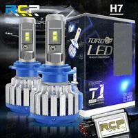 2Pcs H7 6000K LED Lamp Bulbs HeadlightConversion Kit Hi/Lo Beam CREE 7200LM