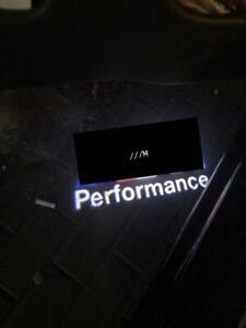 Türlicht für BMW M Performance Logo Ersatz E90 91 F30 F10 11 12 46 60 63 65 X