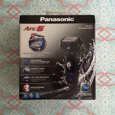 New Panasonic ES-LV81-K Arc5 Cordless Rechargeable Men Shaver W/ Cleaning System