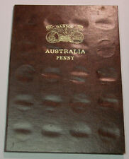 Australian Penny set 1911-1964, complete ex 1930 in Dansco push in album.