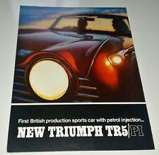 Décembre 1988 Renault 5 I-D édition spéciale UK brochure 5 TL 1.1//5 TR 1.2