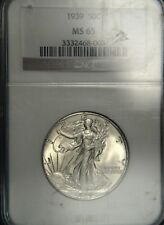 1939 Liberty Walking Half Dollar NGC MS65 (D0682)