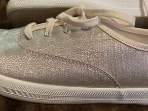 Keds*Lurex Champage*Ortholite Sneakers*  9 M*NEW GREAT FOR BRIDE/Wedding