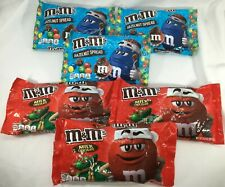 M&M's Hazelnut Spread and Milk Chocolate Candy 6 Bags 54 oz (3 lb) Total BB 8/20
