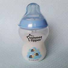 Bleu garçon bébé REBORN/POUPEE bouteille Faux Lait Formule TOMMEE TIPPEE 9 Oz (environ 255.14 g)