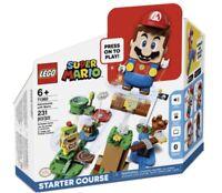 LEGO 71360 SUPER MARIO Adventures with Mario Starter Course Set IN STOCK
