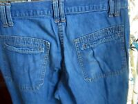 31x32 Actual FIT True Vtg 70s BIG SMITH HIPPY BELLBOTTOM FLARE Mens Denim Jeans