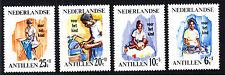 4 postfrische- kleines Lot,**, Antillen-Nederlandse,