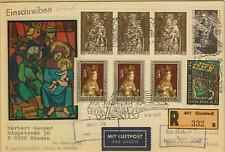 1977,Reco Christkindl Brief nach Israel 9.12.1977