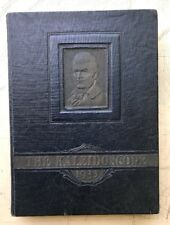 Vtg Art Deco ANTIQUE 1933 KALEIDOSCOPE YEARBOOK Vermont Middlebury College