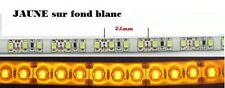 1 bande 30cm Led JAUNE sur fond BLANC ==> tuning / modélisme