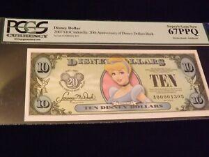 2007    $10     Cinderella 20Th Ann     PCGS  67 PPQ