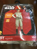 Star Wars The Force Awakens Child's Deluxe Rey Costume Girls Small 4-6 New NIP