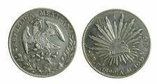 s295_16) MESSICO -  8 Reales  - 1892 CN AM CULIACAN - LITTLE COUNTERMARK ?