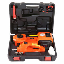 12V DC 5T 3-in-1 Auto Car Electric Hydraulic Floor Jack Lift With Impact Wrench