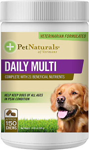 Pet Naturals Of Vermont - Daily Multi For Dogs, Daily Multivitamin Formula, 150