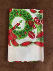 Christmas+Ribbons+Vintage+Holiday+Table+Cloth+52x52