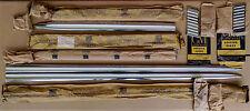 6 pcs. ORIGINAL GM NOS 1955 CHEVY BEL AIR 210 Moulding & Paint Dividers, 4 Door