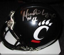 Munchie Legaux Cincinnati Uc Bearcats Signed Riddell Mini Helmet w/ Coa