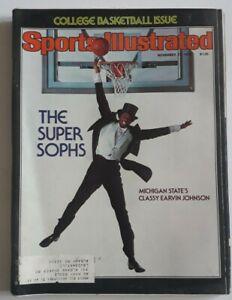 sports illustrated November 27 1978 Magic Johnson (MB)