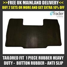 Heavy Duty Rubber Floor Mat Mats Citroen Relay 2006 > Front Tailored Fit 1 Piece