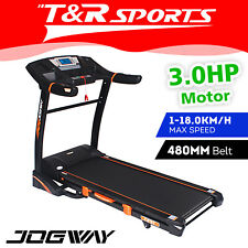 Jogway T25C 3.0HP Foldable Electric Treadmill Home Fitness Workout Machine USB