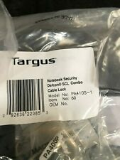 New Targus Pa410S-1 Defcon Scl Security Combination 00004000  Cable Lock Computer Notebook
