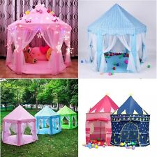 Nuevo Niños Niños Juego Tienda Hada Princesa Niñas Niños Hexágono Playhouse House Uk