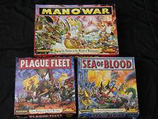 GAMES WORKSHOP MAN O WAR, CORE GAME & SUPPLEMENTS MULTI-LISTING