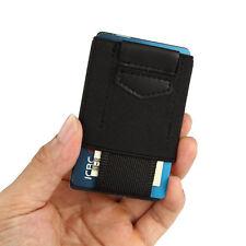 Front Pocket Minimalist EDC Slim Wallet 15 Card Holders for Men Cash Coins Keys