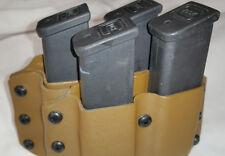 Springfield XDM 40/9mm Quad Kydex Custom Magazine Pouch Black ODGreen or Coyote