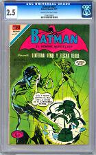 GREEN LANTERN #76 CGC 2.5 aka BATMAN 601 *SPANISH LANG ED* EDITORIAL NOVARO 1971