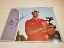 Jon Rahm PGA Player Signed / Autographed 8x10 picture with COA