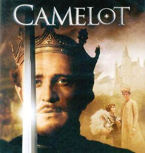 Camelot 1967 G musical movie, new Blu-ray, Richard Harris, Vanessa Redgrave