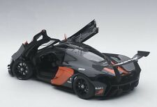 Autoart McLAREN P1 GTR DARK GREY METALLIC/ORANGE ACCENTS 2015 1/18 New Release!