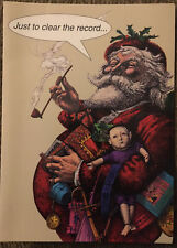 Lot Of 18 Tactless Greetings Christmas Cards I Didn't Inhale